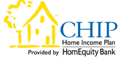 CHIP Home Income Plan Logo - Mortgage Lender Gerard Buckely of Jaguar Mortgages for Wasaga Beach, Collingwood, & Thornbury.